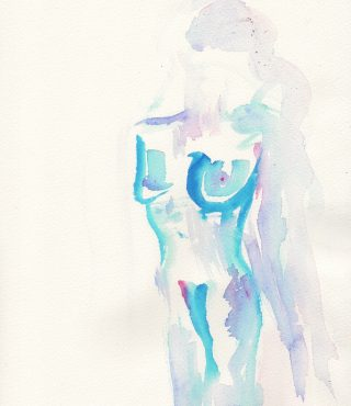desire watercolour painting karen shear art