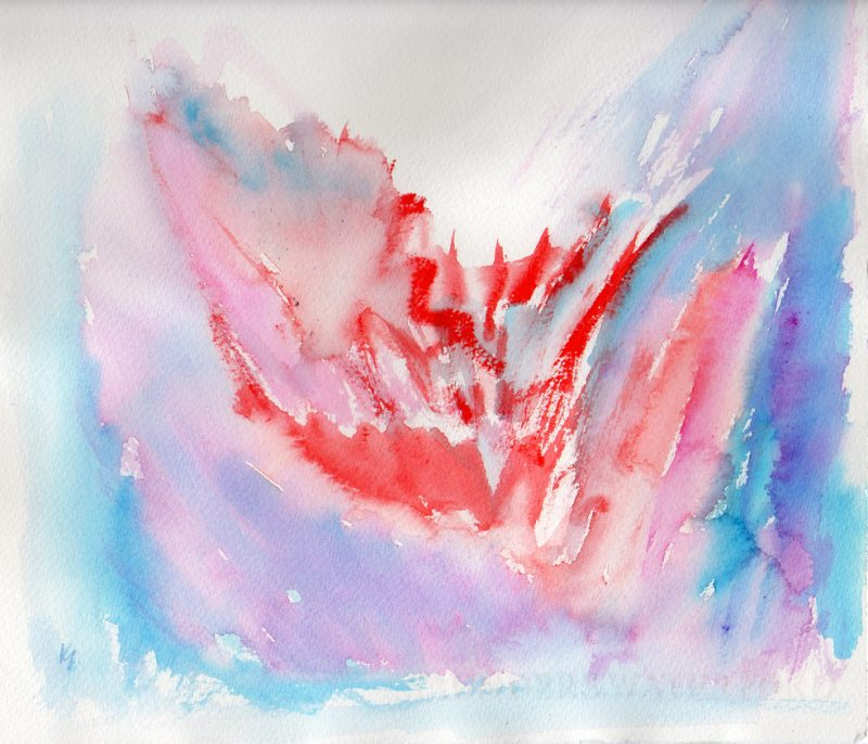 passion watercolour painting karen shear